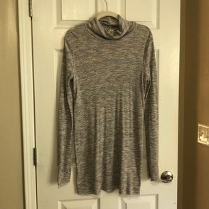 Free People mock neck long sleeve tunic